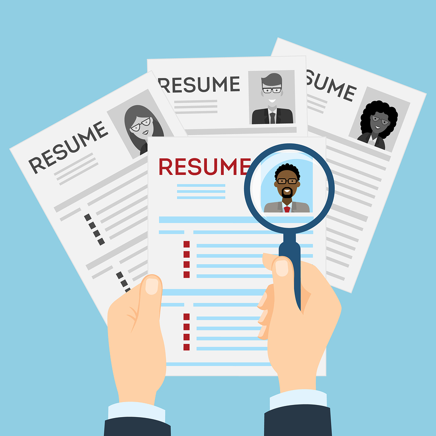 a good cv makes all the difference